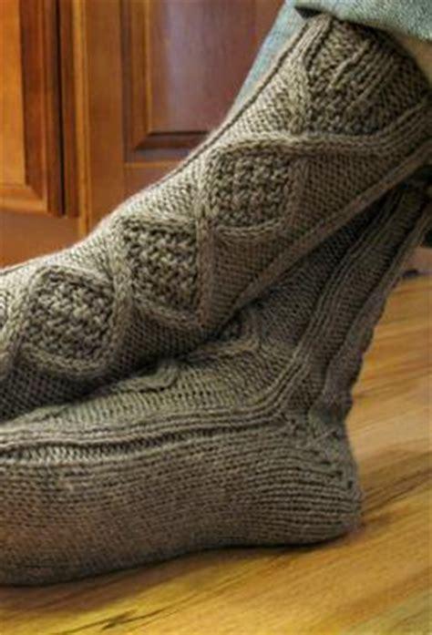 knitting pattern socks man handsome men s slipper socks knitting patterns and