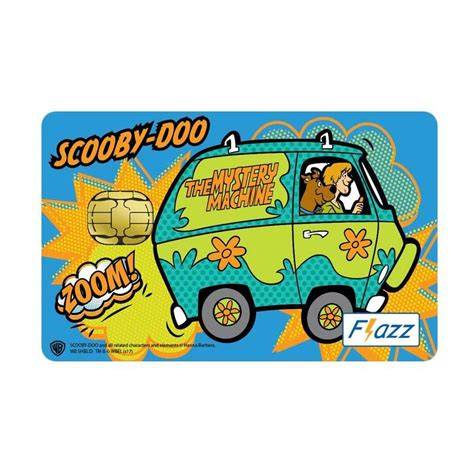Bca Flazz Scooby Doo Mystery Inc jual bca flazz scooby doo mystery machine zoom saldo rp