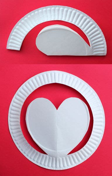 Crafts Out Of Paper Plates - pop up hats made out of paper plates craft idea for