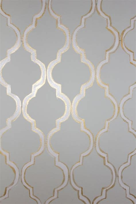 stencil powder room  floor  glossy eggshell