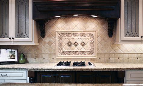 classic kitchen backsplash traditional travertine backsplash flickr photo sharing