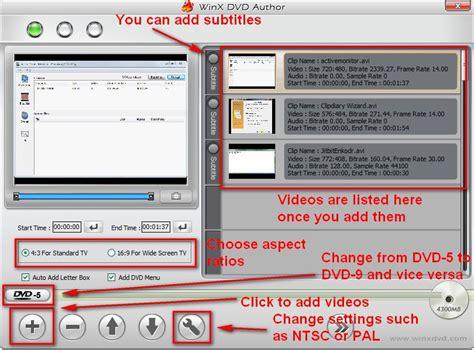 format vob adalah winx dvd author membuat video dvd dari berbagai format