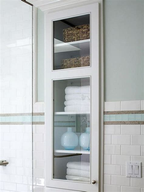 bathroom built in storage ideas towels storage 24 ideas to spruce up your bathroom