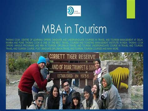 Mba In Tourism In Mumbai by Diploma In Travel And Tourism Authorstream