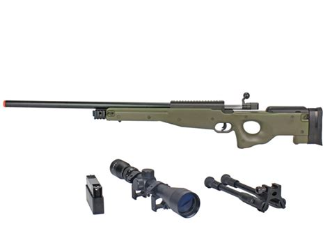 Jual Airsoft Gun Awp Well L96 Mb01 Awp Airsoft Sniper Rifle W 3 9x40 Scope