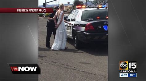 Wedding Arrested by En Route To Wedding Arrested For Dui In Marana