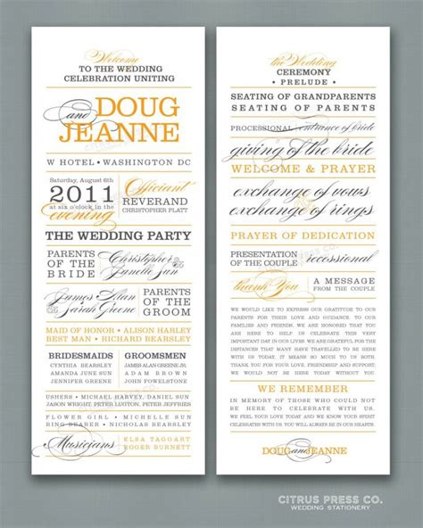 non religious wedding ceremony template 1000 ideas about wedding programs wording on