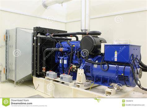 backup diesel generator royalty free stock images image