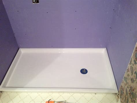 Shower Base Replacement by Shower Pan Replacement Picture Image Of