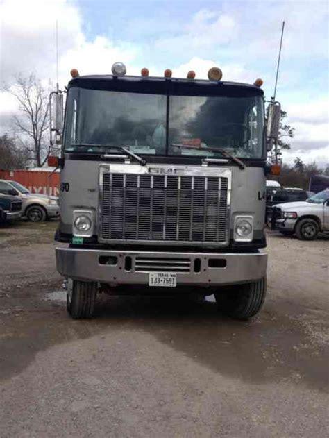 gmc semi truck gmc astro 9500 1980 sleeper semi trucks
