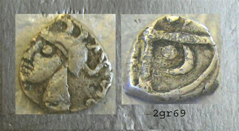 Autentic Gaul forgerynetwork ancient celtic gaul drachm volcae
