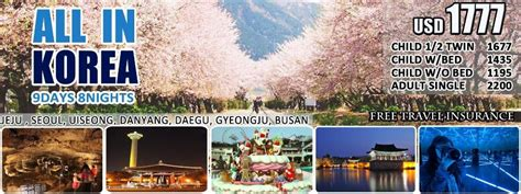 favorite korea  package  cheap holiday  vacation
