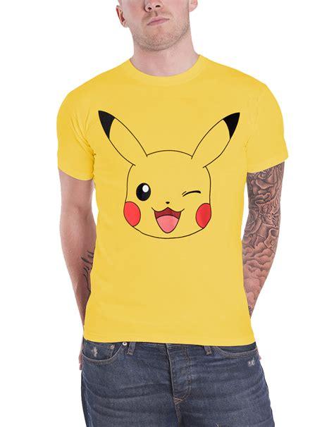 Tshirt Pikachu30 t shirt pikachu ask ketchum mew poke mens new official nintendo ebay