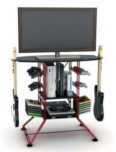 Video Game Rack Storage New Steel Video Game Storage Rack Amp 36 Quot Tv Stand Xbox 360