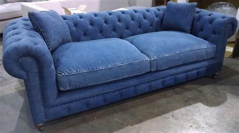 oxford sofa 100 blue denim cotton down cushions 8 way