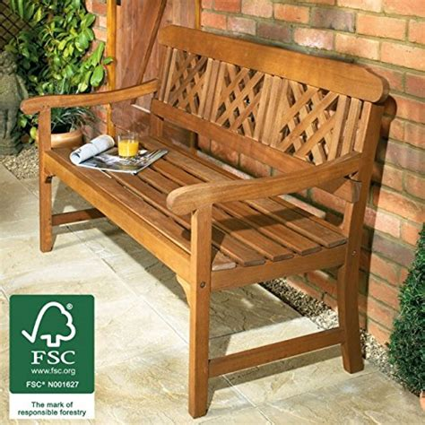 all weather outdoor benches garden bench wooden all weather 3 seater hardwood patio