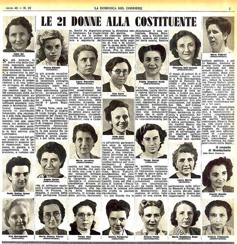 e donne giornale 2 giugno 70 anni della repubblica e le italiane