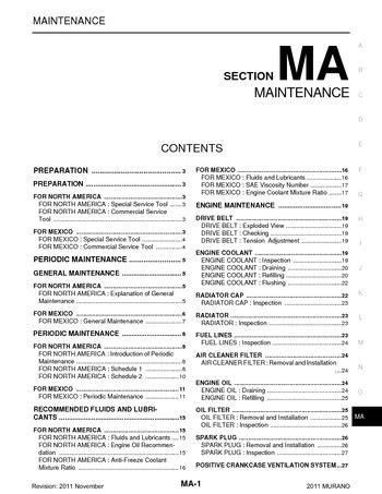 free car repair manuals 2011 nissan murano parental controls service manual free online auto service manuals 2011 nissan murano seat position control