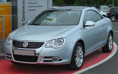how does cars work 2010 volkswagen eos spare parts catalogs file vw eos 3 2 v6 front 20100519 jpg