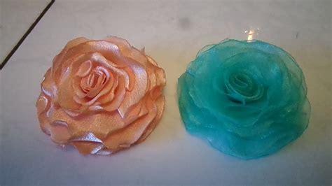 tutorial flores de organza como fazer rosas de organza f 193 cil com ferro quente solda