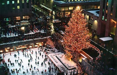 when do they remove rockefeller christmas tree outdoor rinks all the world pre tend be curious