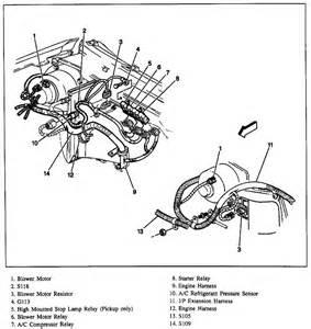 chevy cavalier starter wiring diagram get free image