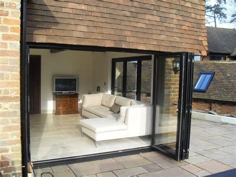 Patio Bi Folding Doors Best 20 Bi Fold Patio Doors Ideas On Bifold Glass Doors Bifold Exterior Doors And