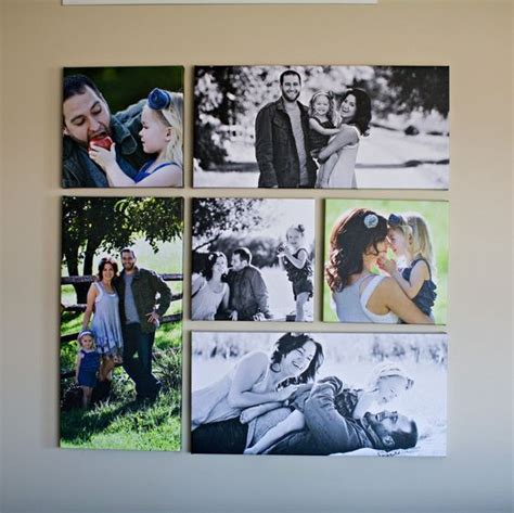 como decorar con fotos familiares ideas para decorar tu casa con fotos familiares 6