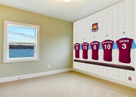 do it yourself diy sports changing rooms 17 best images about sportswalls west ham united on