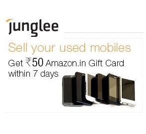 Where To Buy Amazon Gift Cards Locally - free rs 50 amazon gift card on posting used mobile phone ad junglee