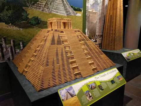 How To Make A Paper Mache Pyramid - project build pyramid built with wooden blocks picture