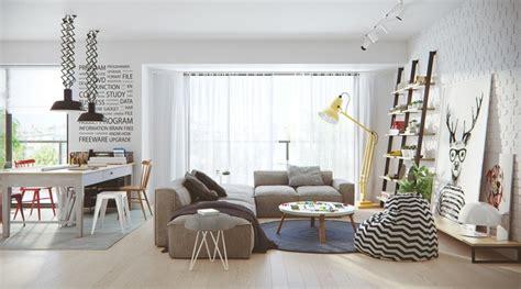 wohnzimmer skandinavischer stil skandinavisch wohnen inspirierende einrichtungsideen