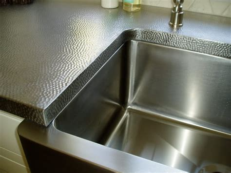 Stainless Steel Countertop With Sink by Ultimate Guide To Metal Countertops Countertop Specialty