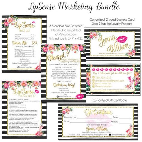 Lipsense Business Card Template Jf06 Advancedmassagebysara Lipsense Business Cards Template