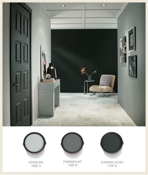 behr paints colors gray to black paint colors room lights and color names