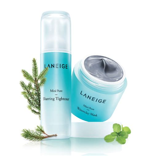 Laneige Mini Pore Waterclay Mask news laneige launches the mini pore waterclay mask