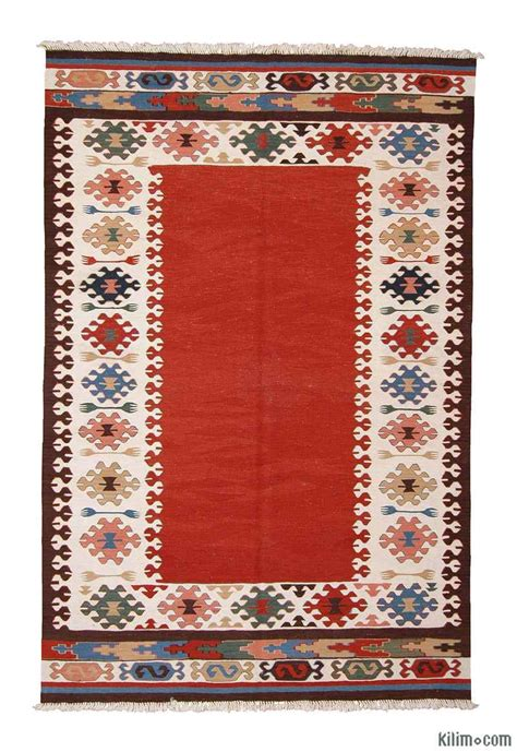 Kilim Area Rugs K0003861 New Turkish Kilim Area Rug