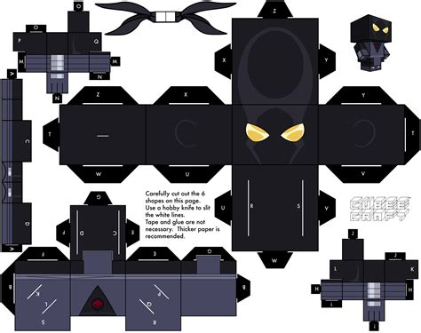 Soldier Papercraft - 2003 foot soldier by cubeecraft on deviantart
