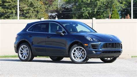 porsche car 2017 2017 porsche macan s review sports car on stilts