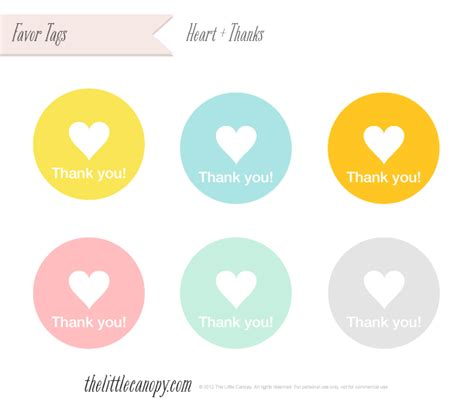 The Little Canopy Artsy Weddings Indie Weddings Vintage Weddings Diy Weddings 187 Printables Free Printable Wedding Thank You Tags Templates