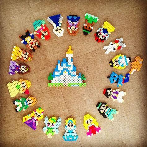 bead characters disney characters perler by saya ono