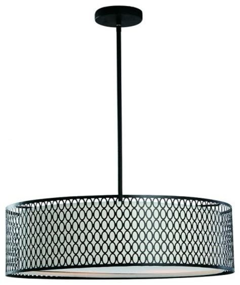 Drum L Shade With Diffuser by Acrylic Diffuser 2 Tiers Drum Shade Modern Pendant Ceiling
