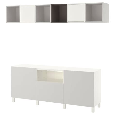ikea besta tv cabinet eket best 197 cabinet combination for tv white dark grey