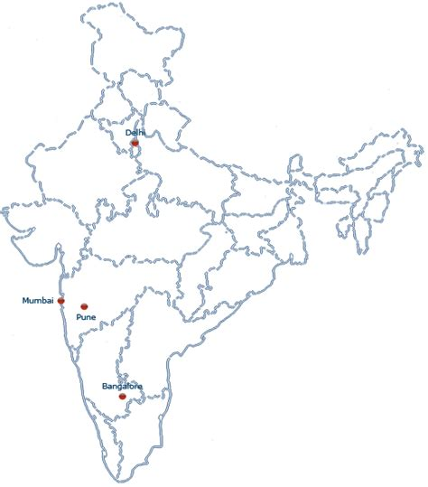 pune in map of india water