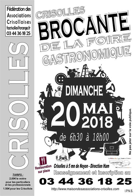 Brocantes Oise 60 by 60 Oise Vide Greniers Brocantes Puces Rederie Bric 224