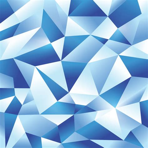 blue geometric pattern how to create an icy blue vector geometric design