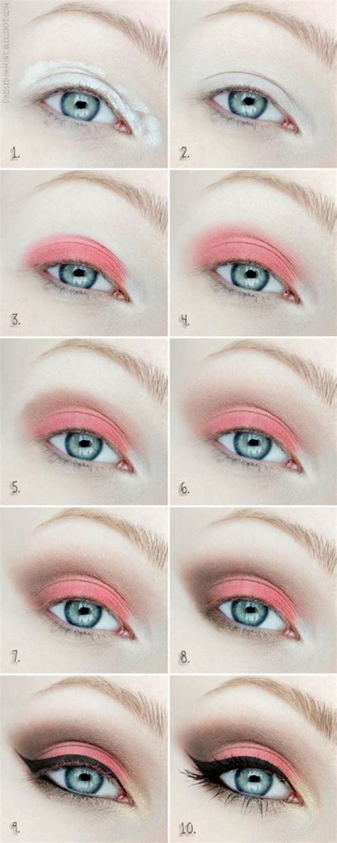 eyeliner tutorial beginners 12 fierce eyeshadow tutorials for beginners