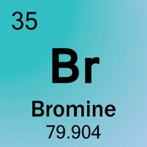 bromine element cell science notes and projects