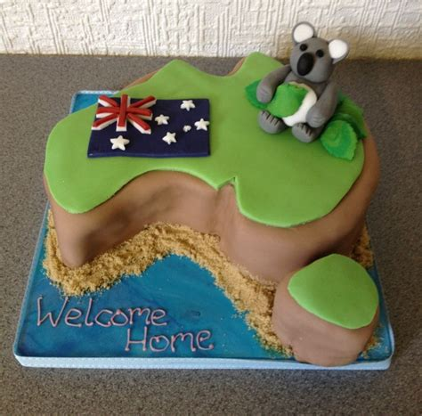 australia welcome home cake cake creations