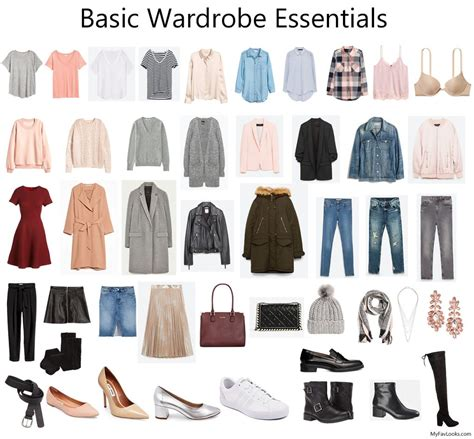 Wardrobe Essentials by Basic Wardrobe Essentials On A Budget Fav Looks